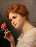 Portrait of a Lady with a Rose