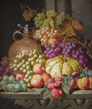 Still Life of Fruit & Companion